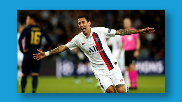 PSG Thump Real Madrid at Home to Move Top of Group A
