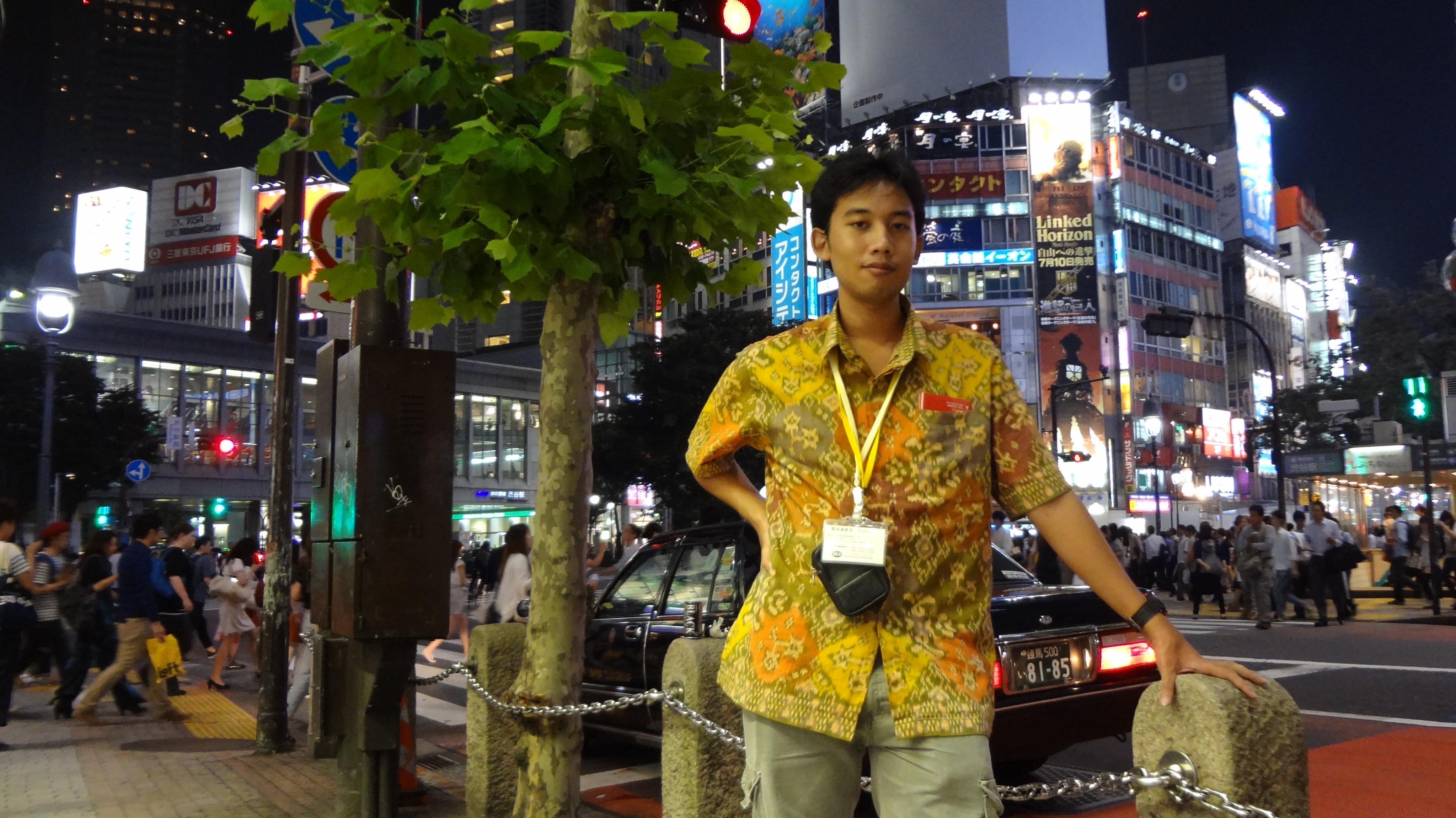 Fajar Purnama in Tokyo