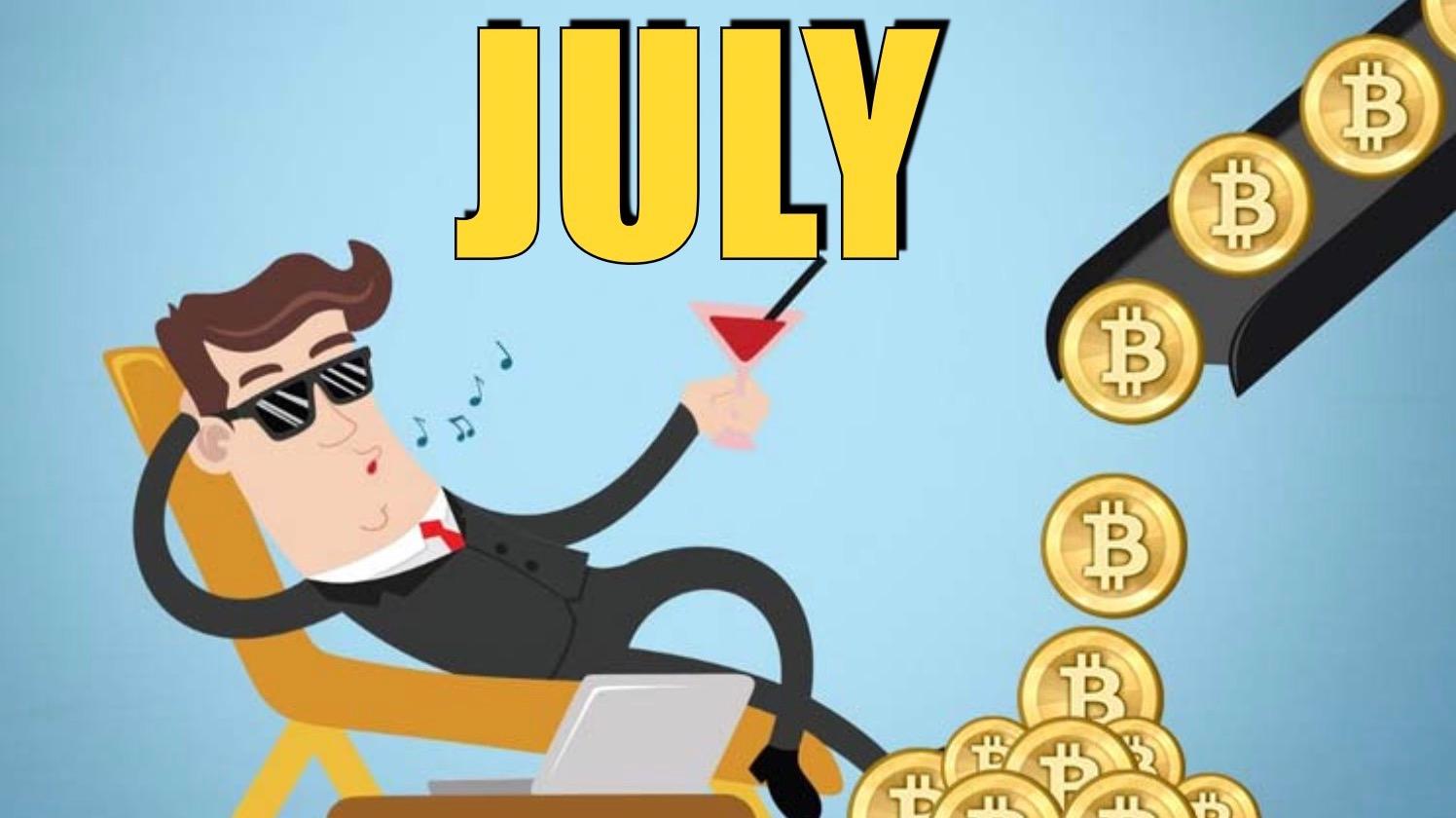 My Crypto Earnings (July)