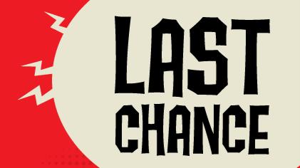 Last Chance?