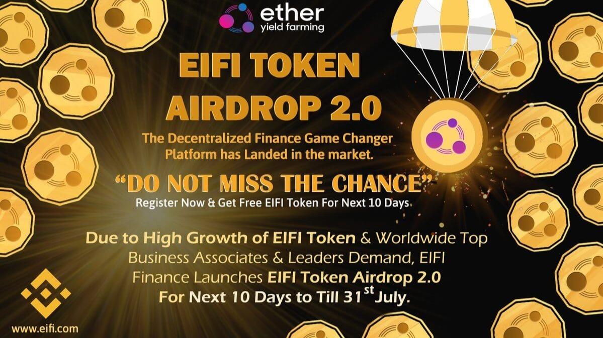 EIFI Finance - Get 270$ for free! - Airdrex