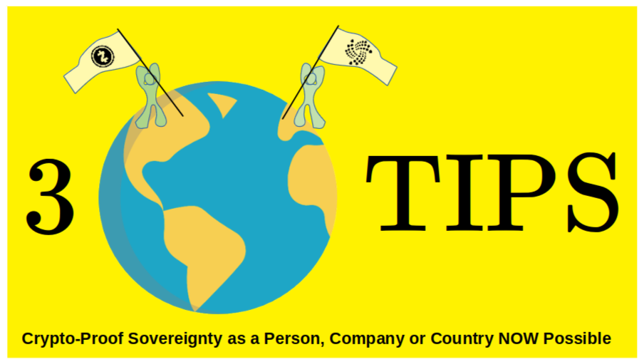 Self Sovereignty: 3 Easy Steps for Person, Company or Country