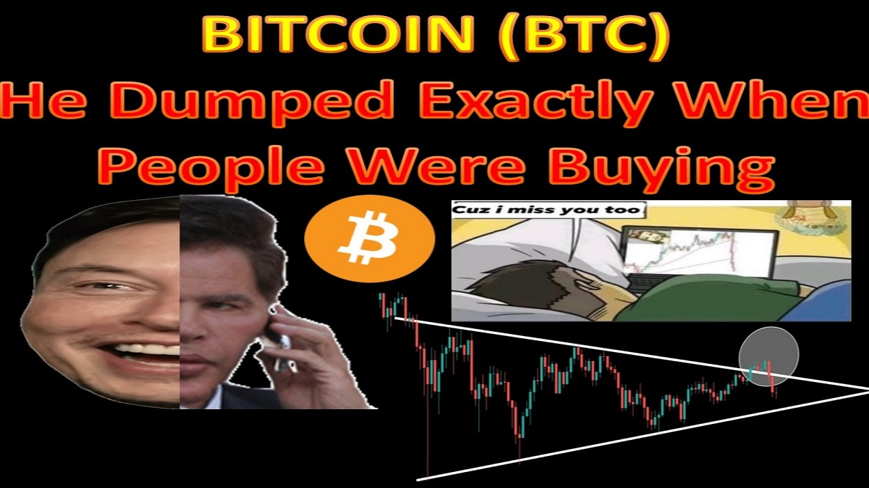 BITCOIN (BTC) He Dumped Exactly When People Were Buying