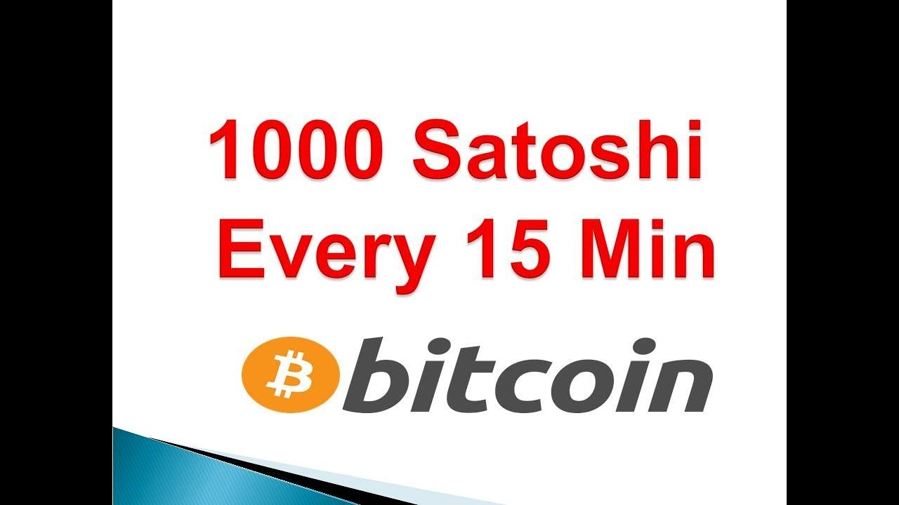 Faucet Pay 1000 satochi every 15 minutes to Faucethub + 50