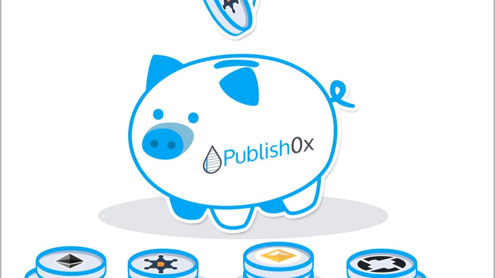 Publish0x Piggy Bank Logo