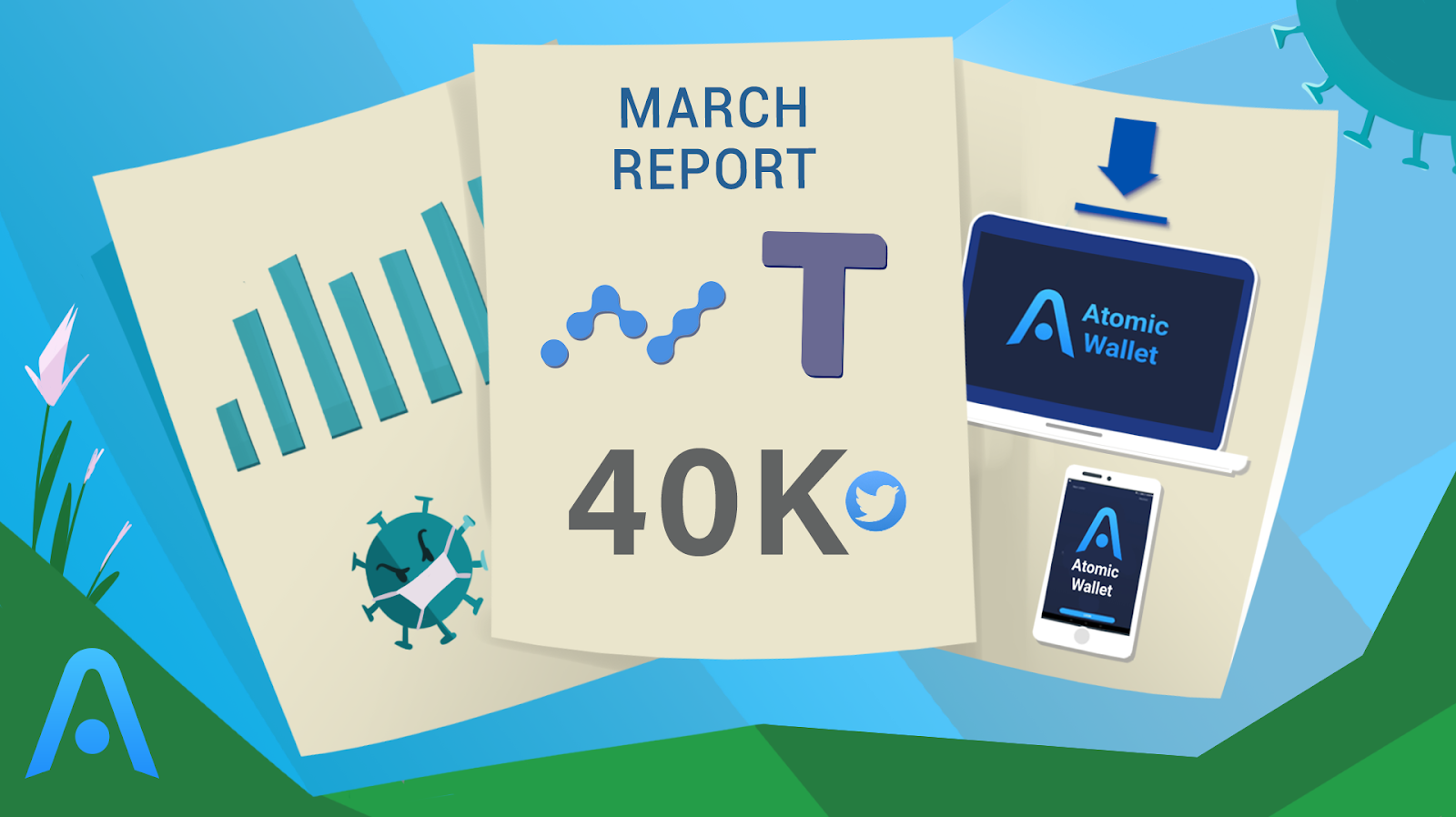 atomic's report for march