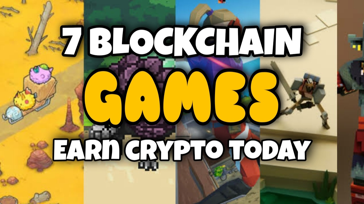 BLOCKCHAIN GAMES YOU CAN PLAY NOW: PLAY TO EARN CRYPTO GAMES