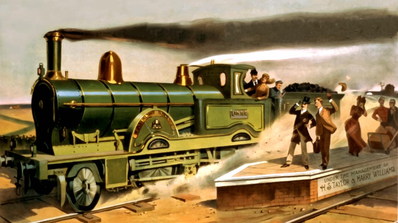 A very long train