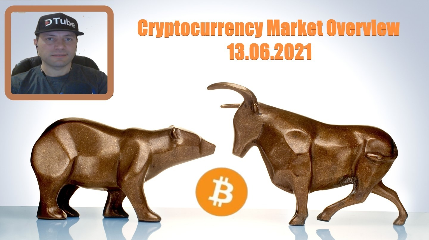 🎥 My Cryptocurrency Market Overview | 13.06.2021