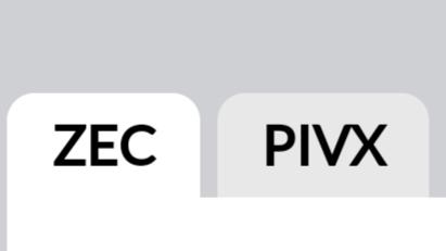 ZEC PIVX