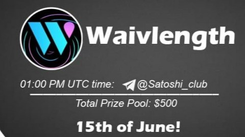 Waivlength x Satoshi CLUB AMA Session 15 Jun 2021