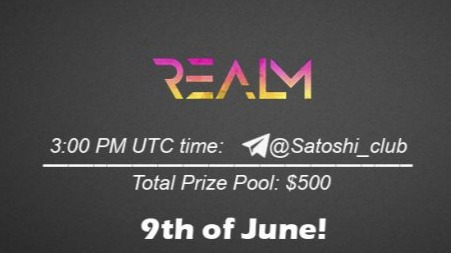 Realm x Satoshi Club AMA Recap from 9th of June
