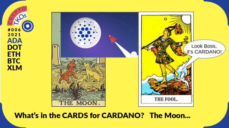 What's in the CARDS for CARDANO? A Rocketship to the Moon imo..,