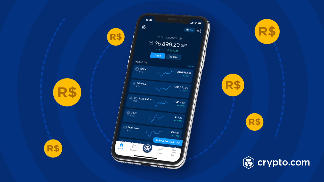 Brazilian Real added to Crypto.com App and Exchange