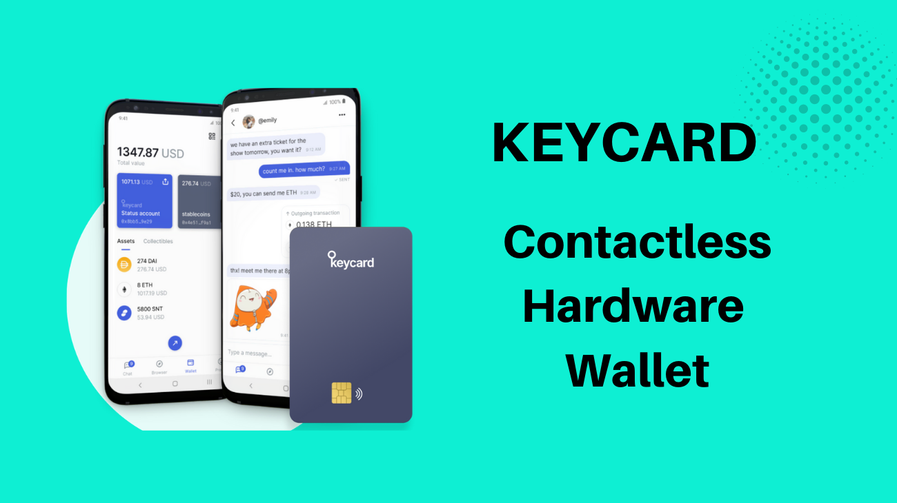 Keycard – Contactless Hardware Wallet