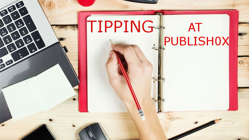 The Tipping Process Will Soon Be Changed At Publish0x For The Better