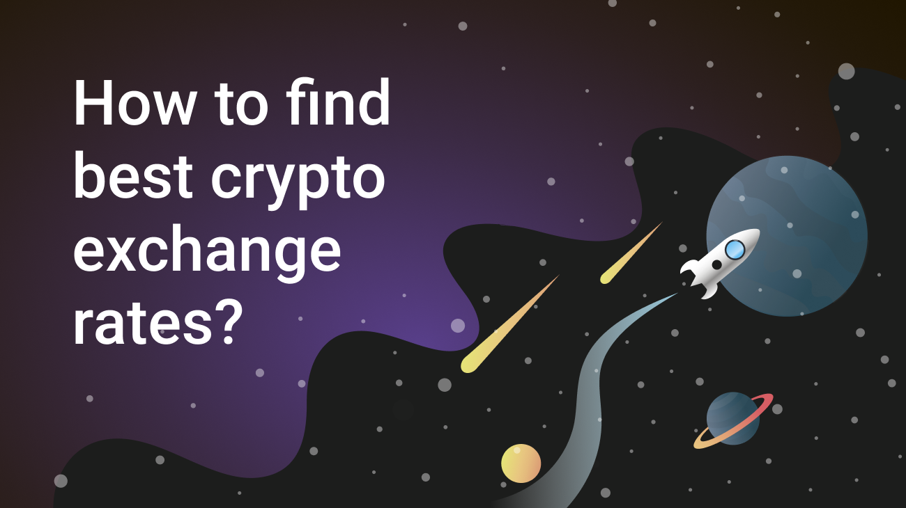 Where to find best cryptocurrency exchange rates?