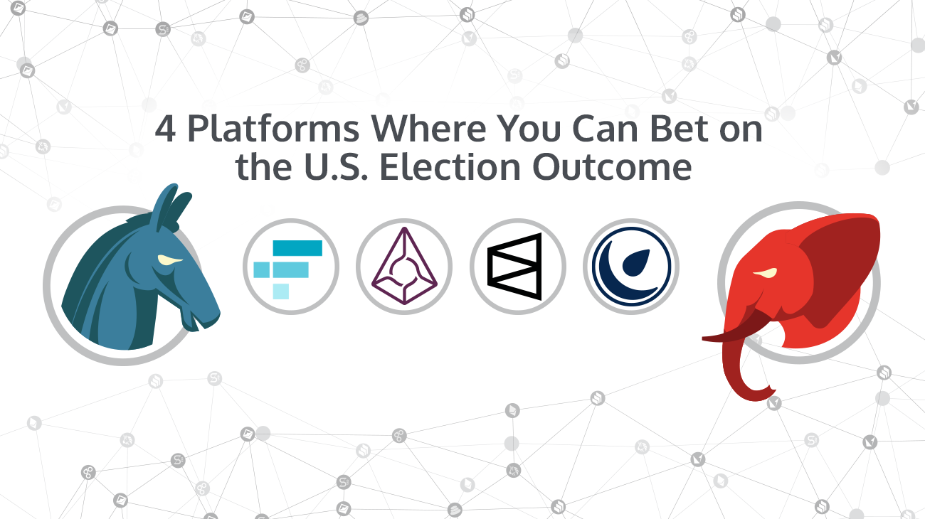 4 Platforms Where You Can Bet on U.S. Election Outcome