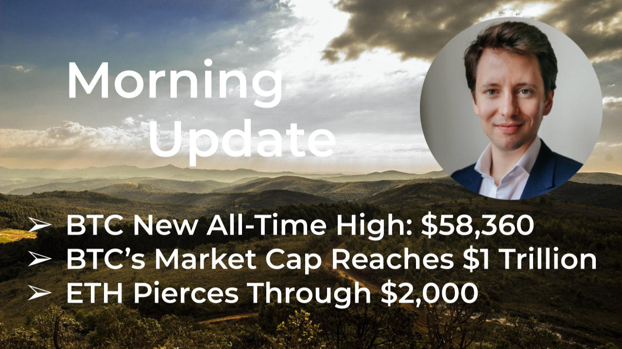 Morning Update—February 22th—Macro and Crypto Markets