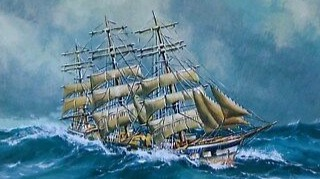 Pic of a painting of a Ship from Google