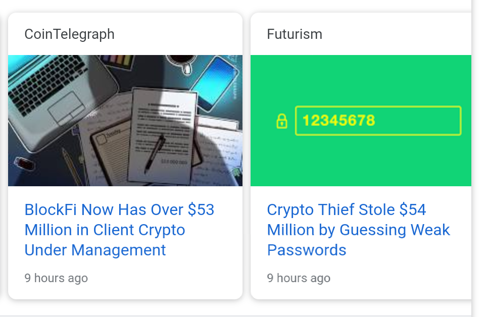 The Problem With Crypto, Is, Well....Crypto.