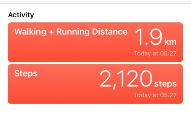 My First Day Jogging - October 8th