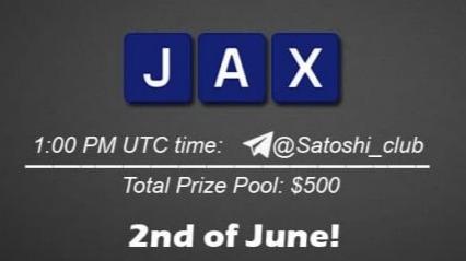 Jax.network x Satoshi CLUB AMA Session 02 June 2021