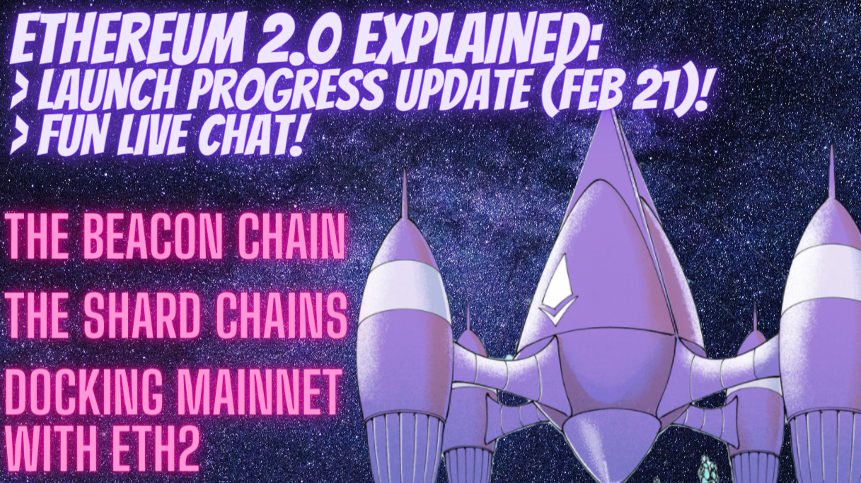 Ethereum 2.0 Explained: Progress Launch Upgrade Update, Plus Latest ETH and Gas Prices! MUST WATCH!