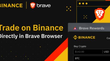 BRAVE BROWSER INTEGRATES XRP , ETHEREUM, BITCOIN, BCH, TRX, NANO, DASH... WITH ITS BINANCE WIDGET
