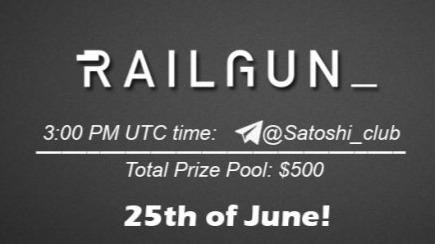 Railgun x Satoshi Club AMA Recap from 25th of June
