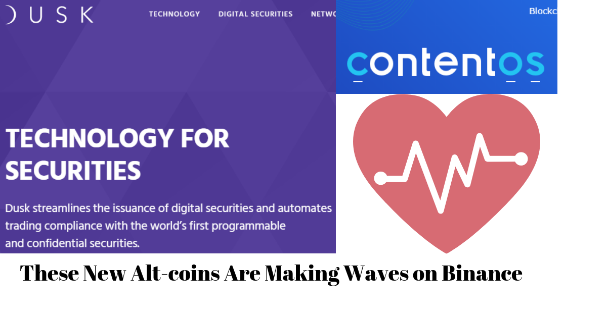 THESE TWO ALT-COINS ARE MAKING WAVES ON BINANCE