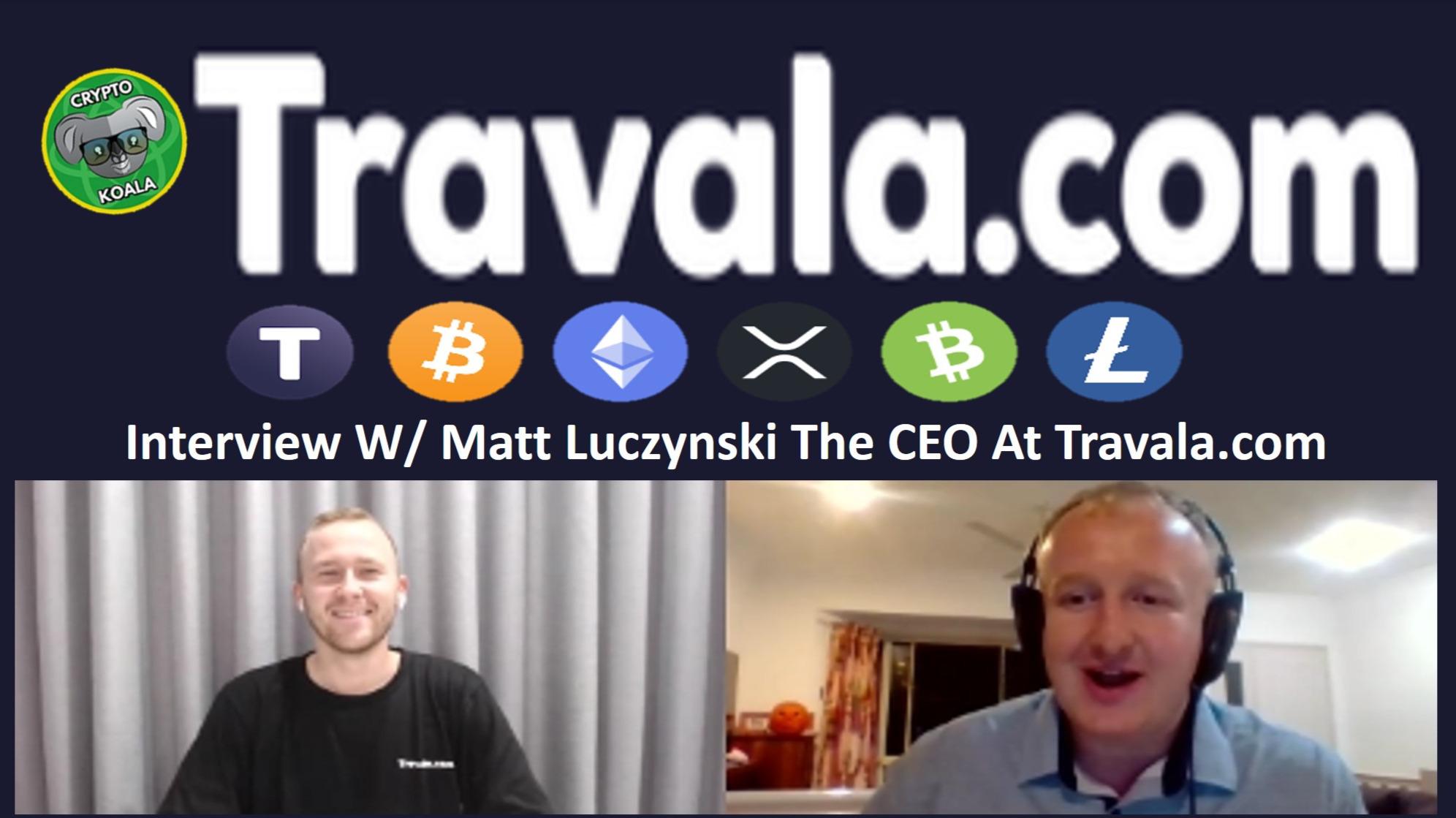 Travala.com Oct 2019 - Book Your Favourite Holiday W/ BNB, EOS, BTC, NEO & More! W/Matt Luczynski