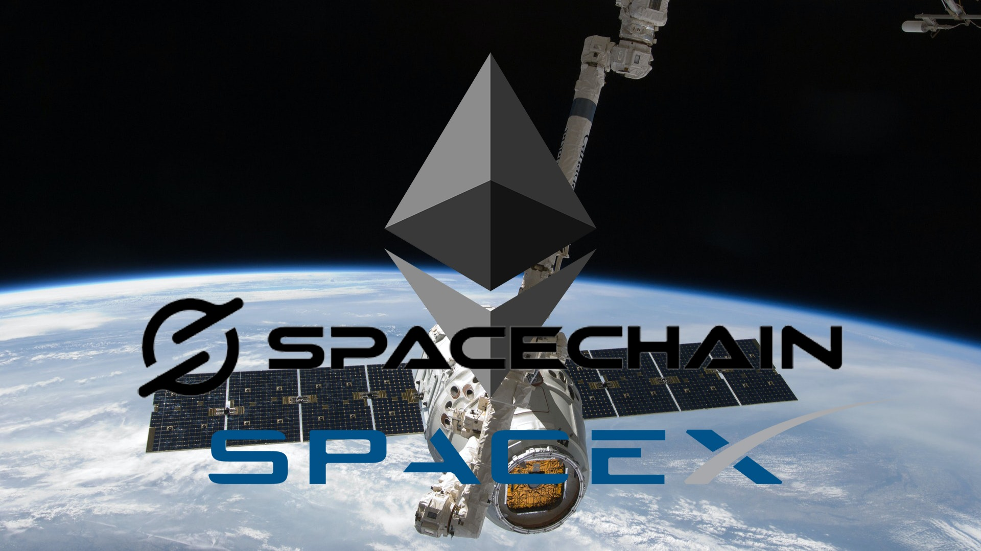 SpaceX Sends ETH Node To ISS With SpaceChain As ETH Gains