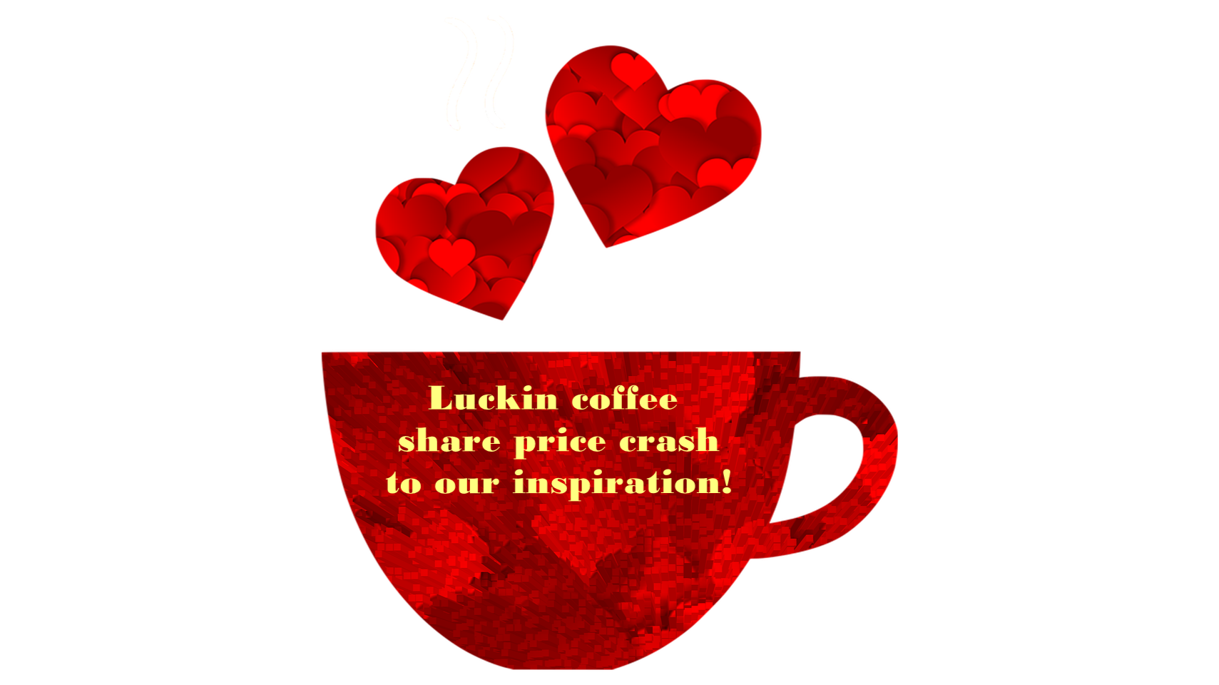 Luckin coffee share price crash to our inspiration!