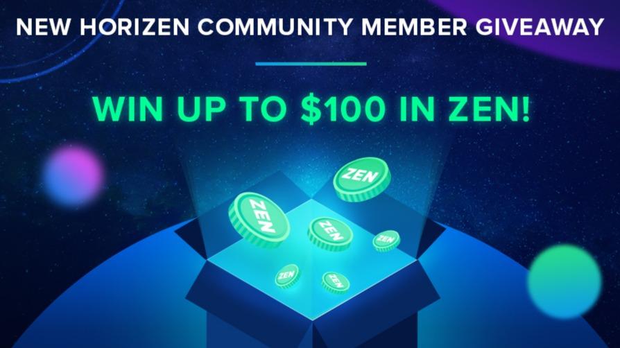 Horizen (ZEN) - WIN UP TO $100 IN ZEN!