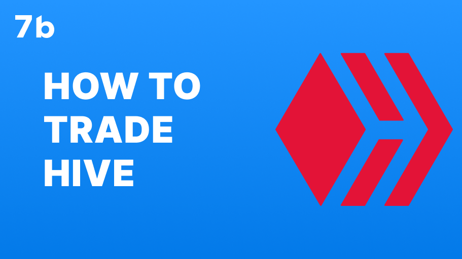 How to trade HIVE