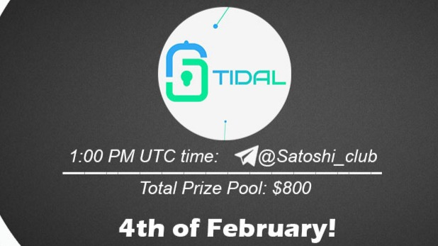 Tidal x Satoshi Club AMA Recap from 4th of February