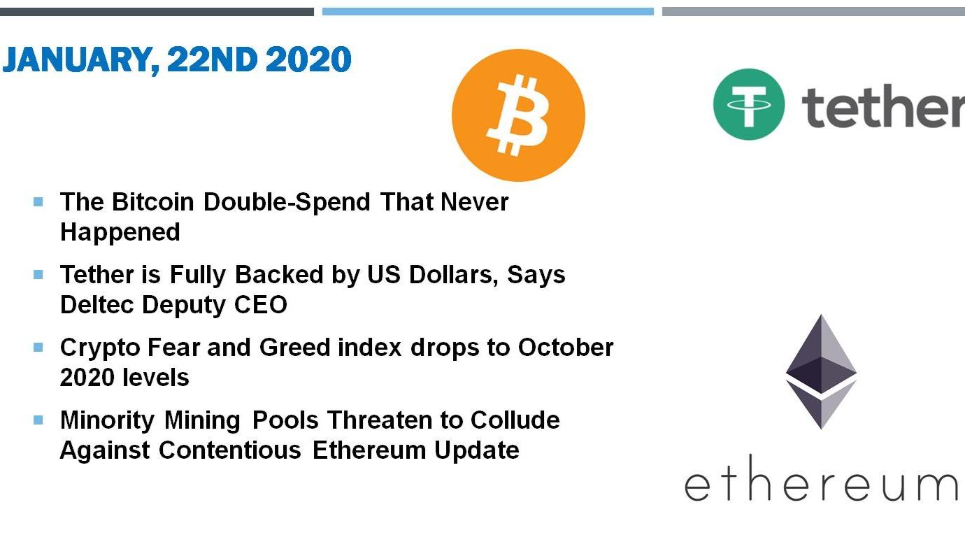 🗞 Daily Crypto News, January, 22nd💰