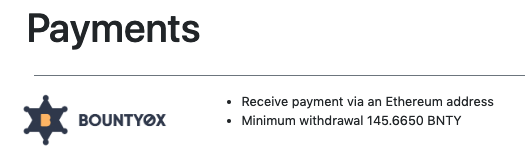 First payout of publish0x
