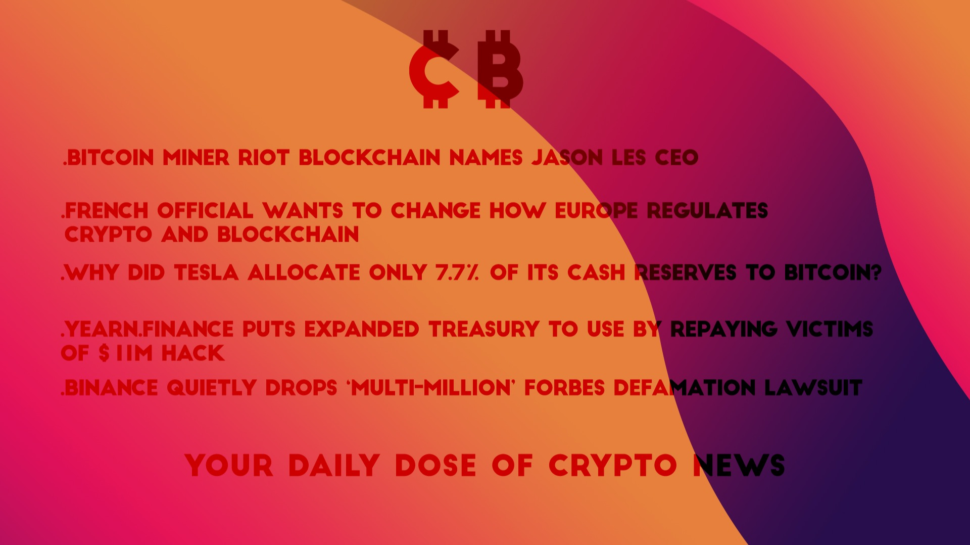 DailyCryptonews by cryptoborges - 09/02/2021