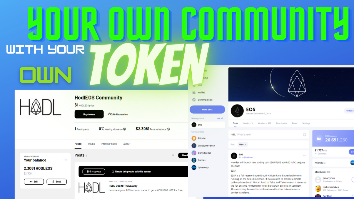 Create a Crypto Community with its Own Token