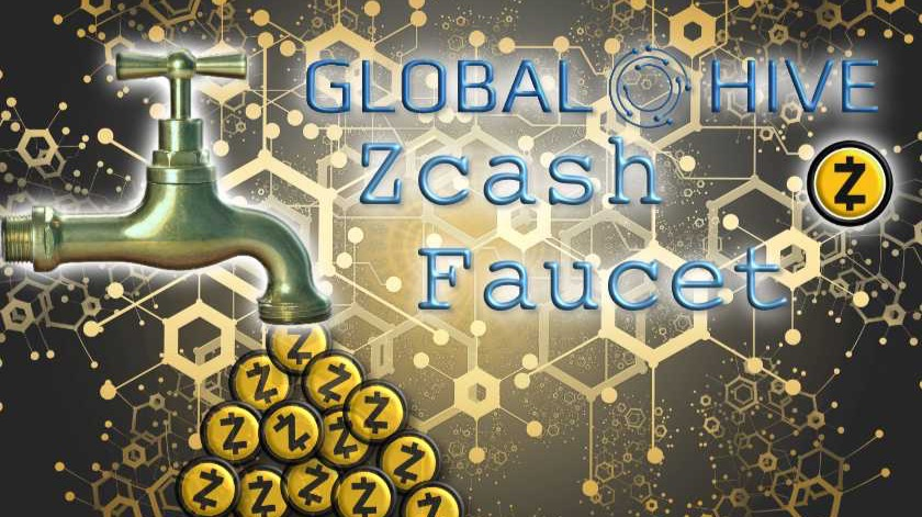 Globalhive Zcash Faucet