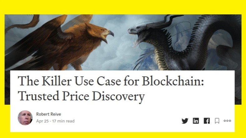 R2 Medium Article on Trusted Price Discovery Early thoughts