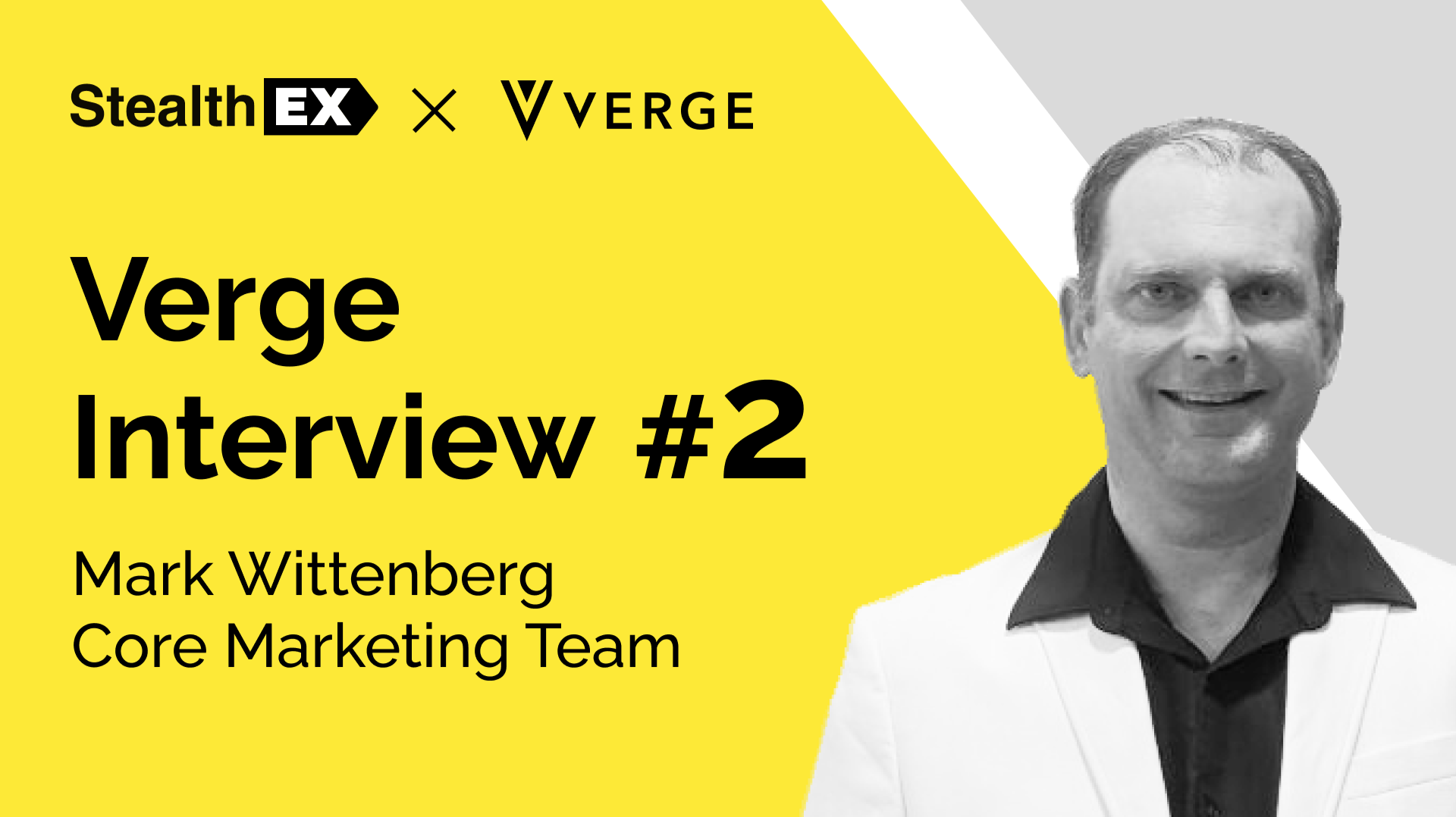 StealthEX Interview With Mark Wittenberg, The Verge Currency Core Marketing Team