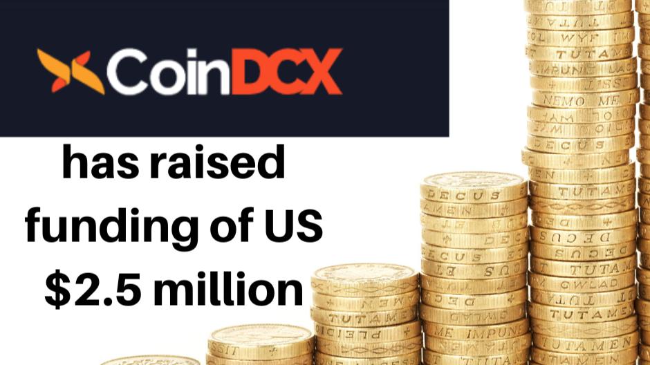 CoinDcx has raised fund