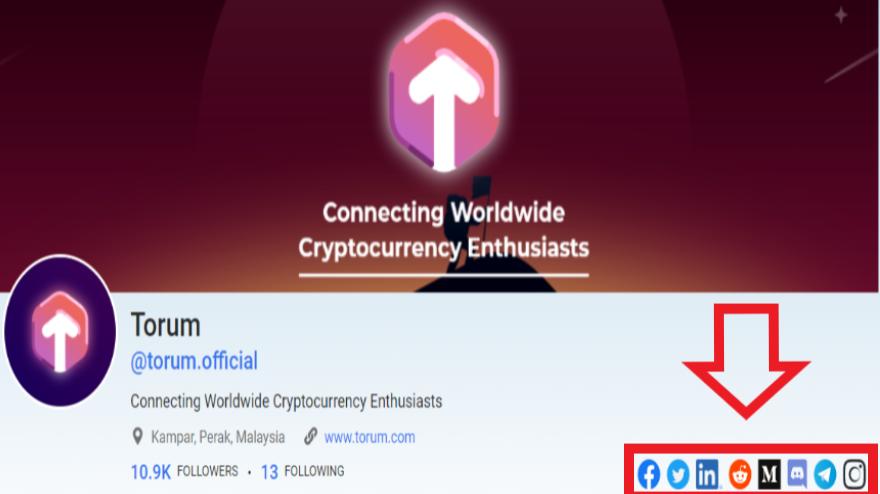 accounts on company profile