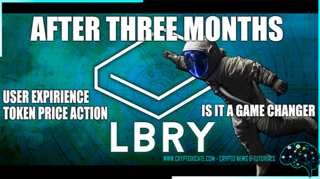 LBRY TV USER EXPIRIENCE AND PRICE ACTION