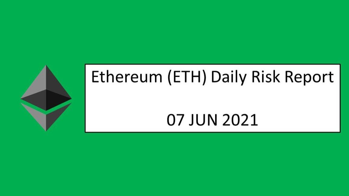07 JUN 2021 (MON)- Ethereum (ETH) Daily Risk Report