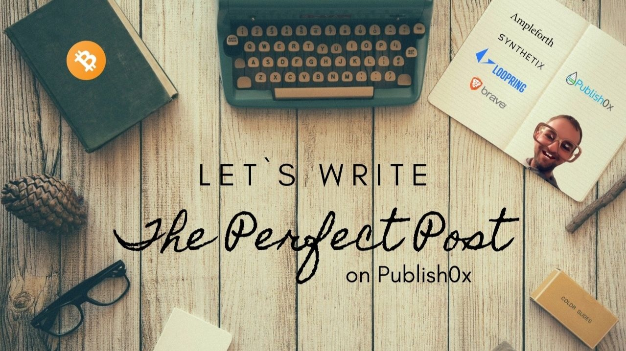 Writing tips for Publish0x