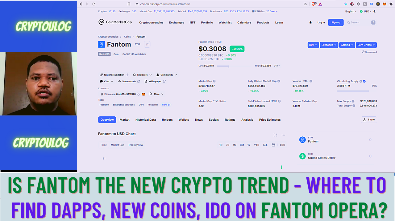 Is Fantom The New Crypto Trend - Where To Find DAPPs, New Coins, IDO On Fantom Opera?
